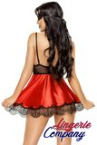 Beauty Night Fashion Eve Babydoll met masker rood _15