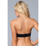 Miracle Push-Up Strapless BH - Zwart_17