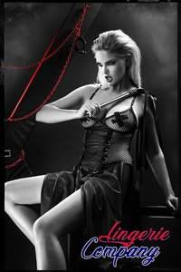 Demoniq Dark Desire Collection Zwart Set Selene