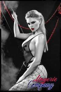 Demoniq Dark Desire Collection Zwarte Body Tetyda