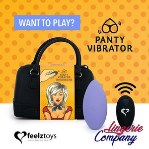 Feelztoys Panty Vibe Remote Controlled Vibrator Paars