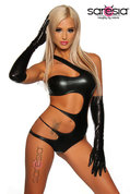 Wetlook-Monokini-Zwart