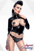 Zwarte-Set-Korset-jas-en-slip-van-Demoniq-Hard-Candy-Collection
