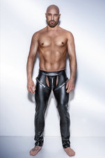 Black-Powerwetlook-pants-with-harness