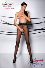 Passion-Erotic-Line-Open-panty-zwart