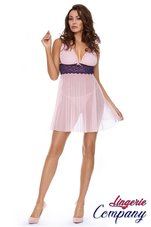 Excellent-Beauty-roze-Babydoll-met-kant